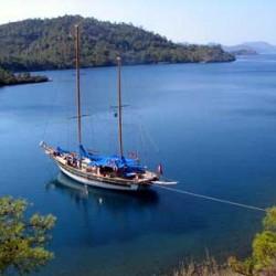 Yacht cruise in Turkey